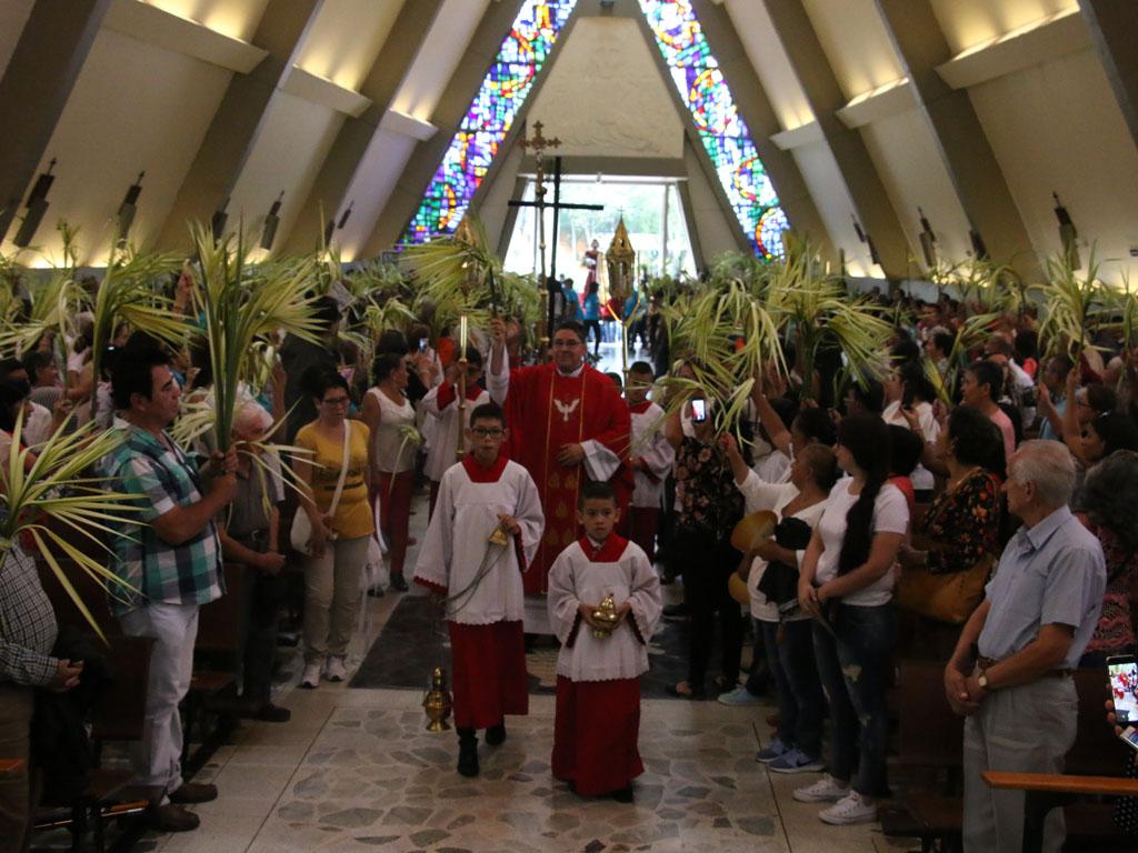 Domingo de ramos en Armenia