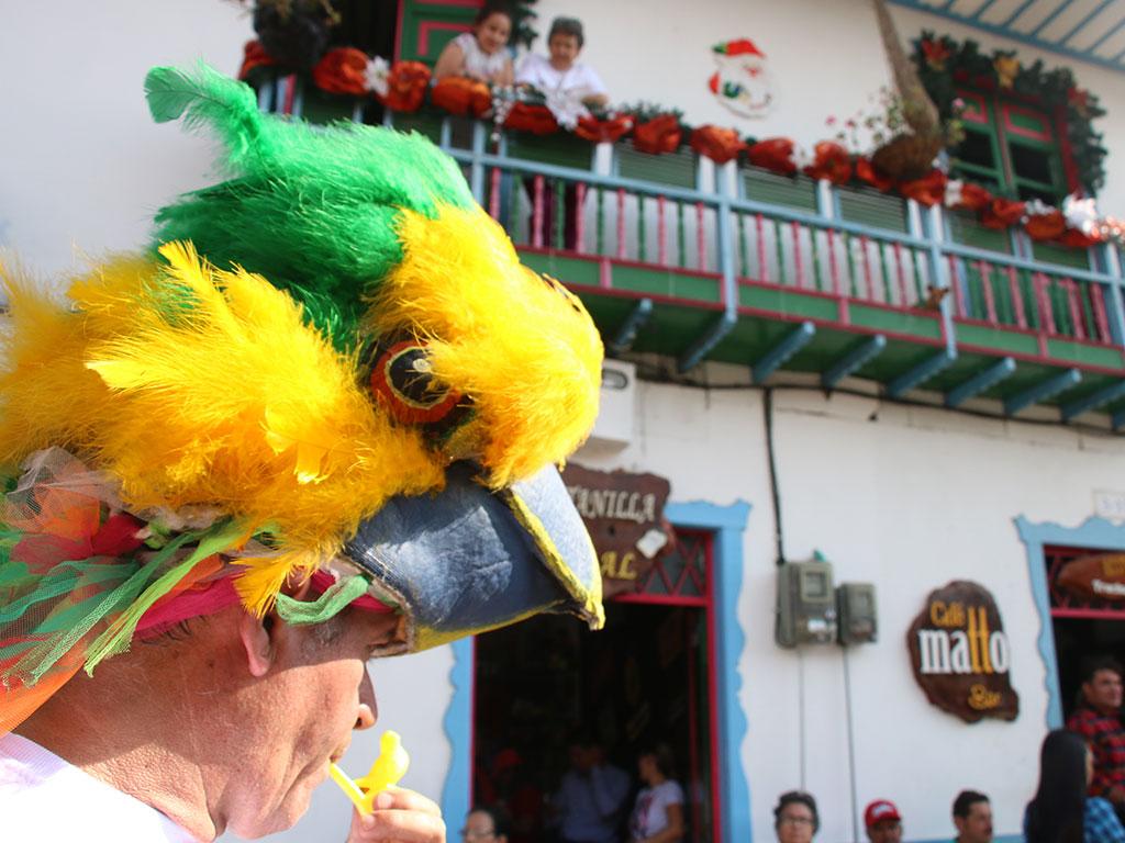 Así se vivió el 'desfile de la naturaleza', en el marco de las Fiestas de Salento