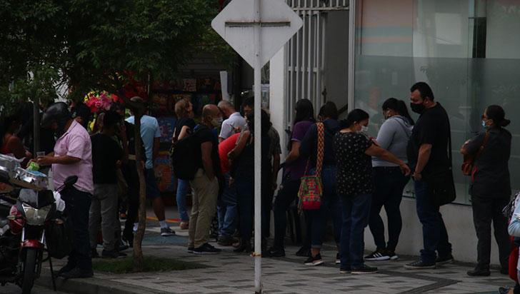 Autocuidado en Armenia, sin distanciamiento queda a medias