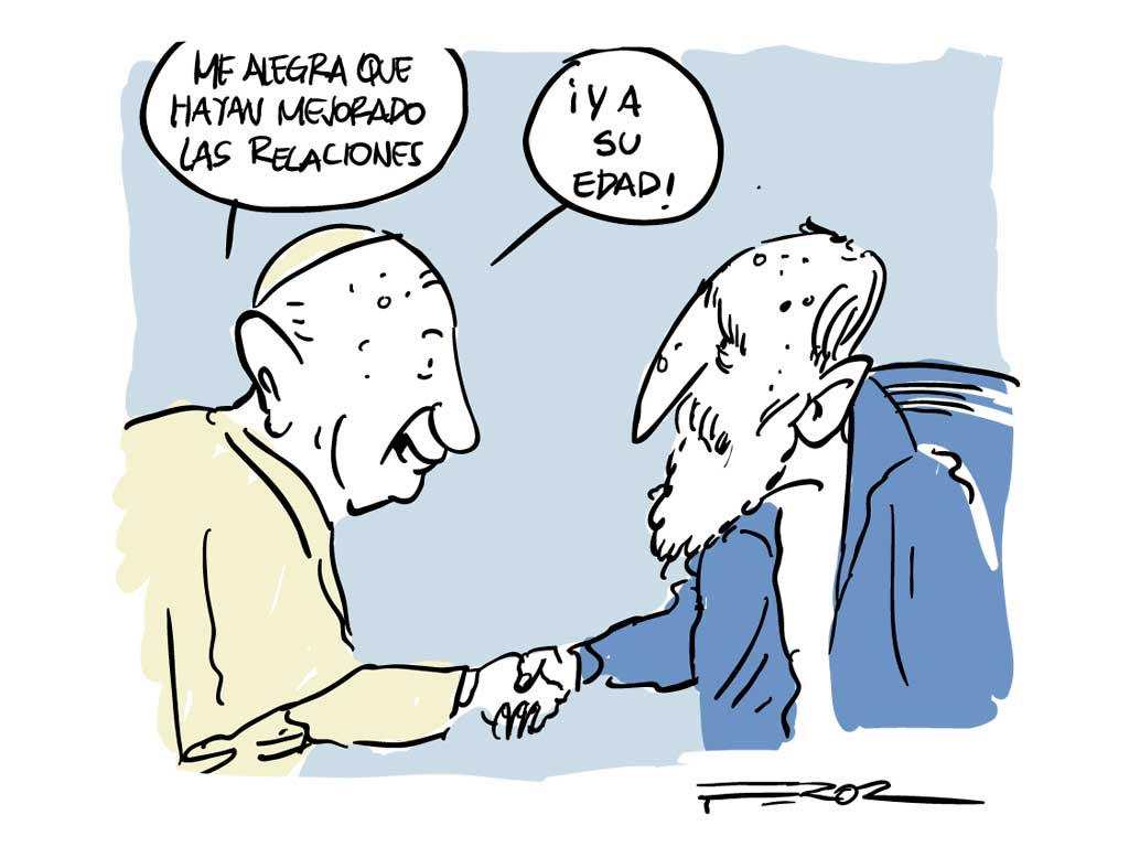 Fidel Castro en los trazos de 'Feroz'