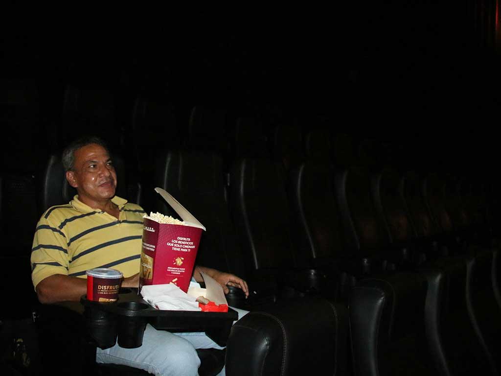 Los espectadores se reencontraron con el séptimo arte y el teatro