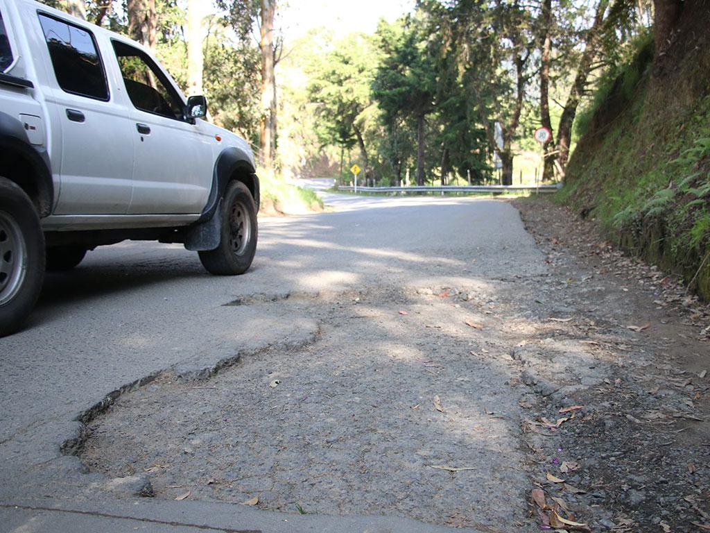 Vía Boquía-Salento: 29 huecos que generan riesgo de accidentes