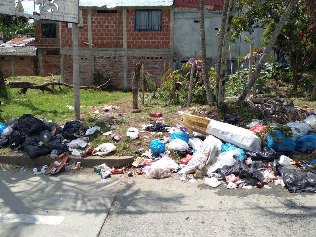 En La Tebaida, la ciudadanía se rajó en el manejo de basuras