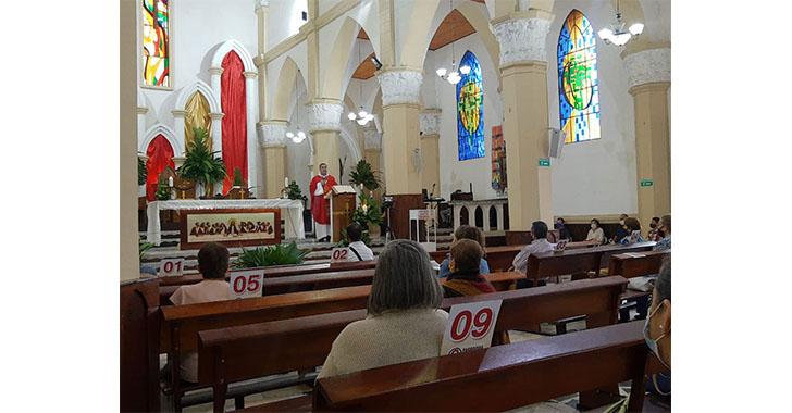 Sin procesiones, pero con mucha devoción celebraron el Domingo de Ramos