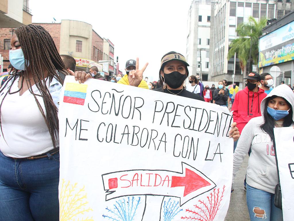 La unión hace la fuerza en las manifestaciones