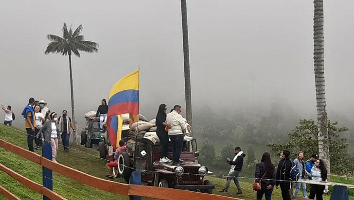 Marcos y columpios, nuevos atractivos en Cocora que generan preocupación