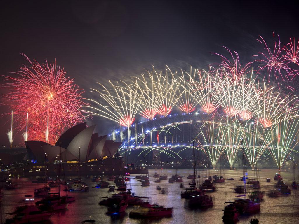 Luces, colores y alegría: Así recibió el mundo la llegada del 2019