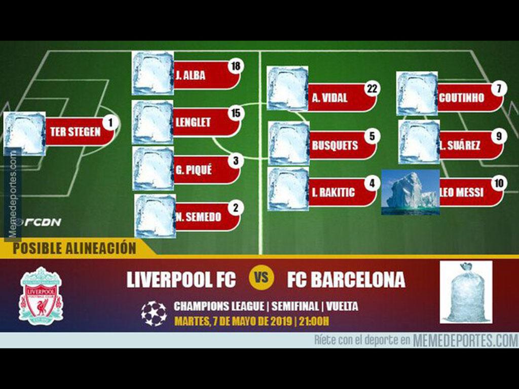 Los mejores memes que dejó la remontada del Liverpool sobre Barcelona