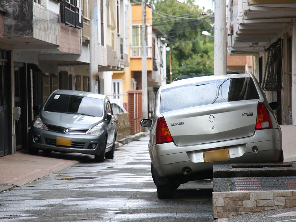 Los mal parqueados