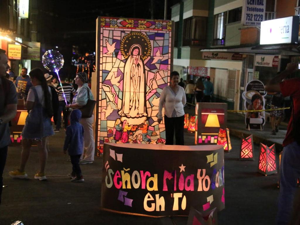 Así celebró Quimbaya su tradicional día de las velitas