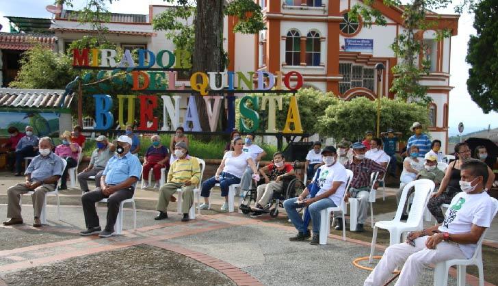 Con presentaciones musicales Buenavista activó su vida social