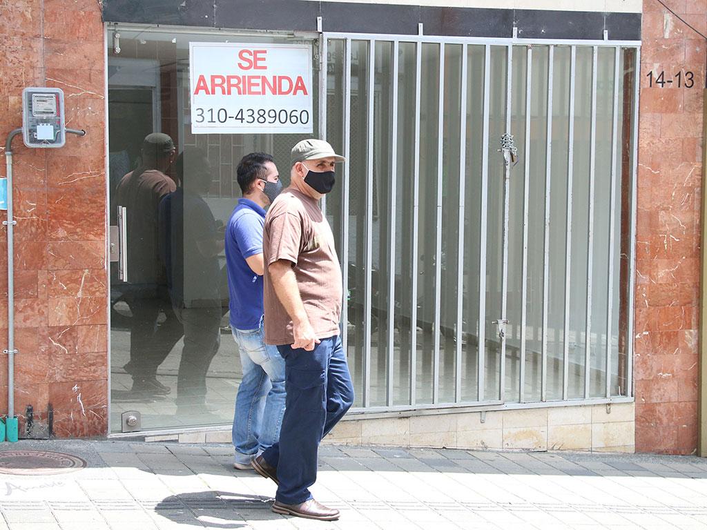 El cierre de negocios en Armenia, otro 'virus' que dejó la pandemia
