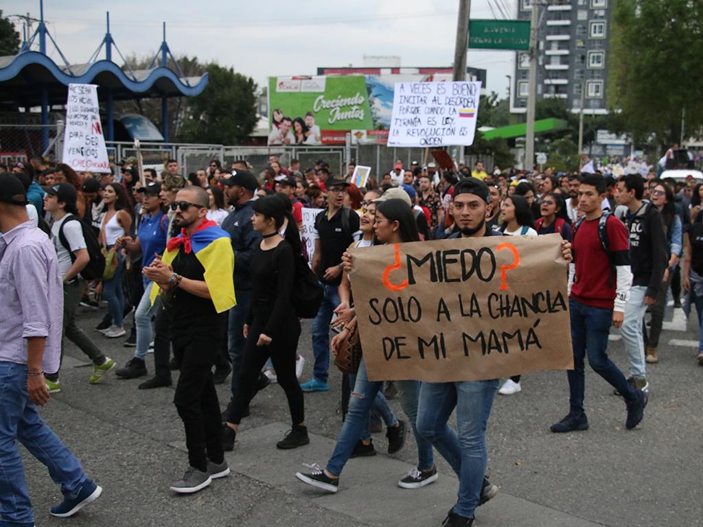 Armenia se sumó a nueva jornada de paro nacional este miércoles