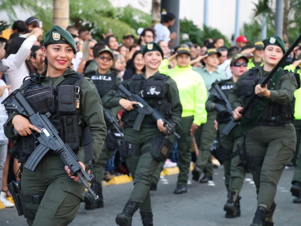 Armenia homenajeó a sus soldados y policías este 20 de julio
