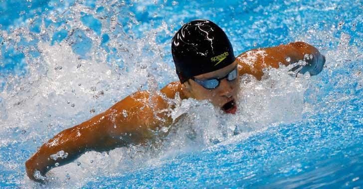 Jonathan Gómez eliminado en fase semifinal de los 200 metros mariposa