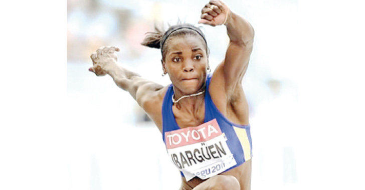 Caterine Ibargüen empieza actuación por el oro en salto
