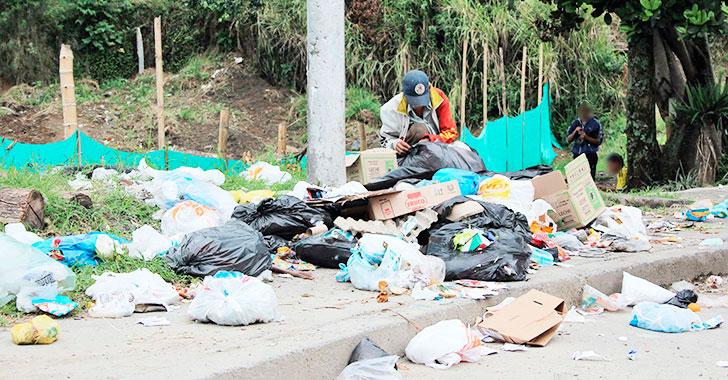 En el barrio Gibraltar, las basuras siguen siendo un flagelo