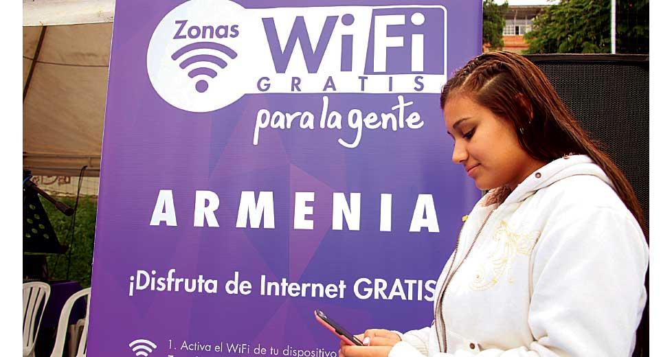 Zonas Wifi gratuitas inauguradas ayer con cobertura de 7.800 m2