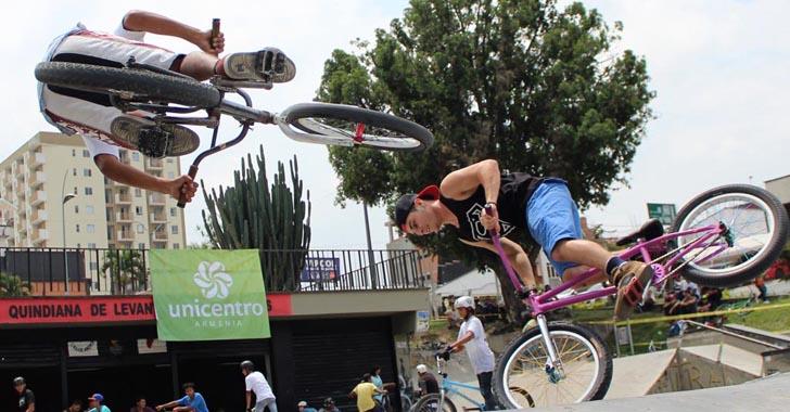 Empezó el campeonato nacional de BMX Freestyle Cafetero