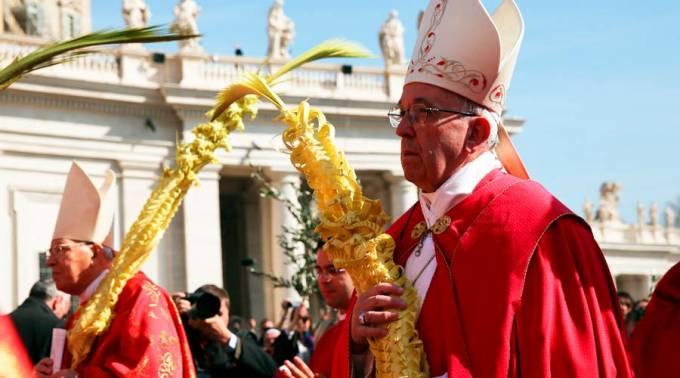Con procesión de Domingo de Ramos, los católicos avanzan hacia la Pascua