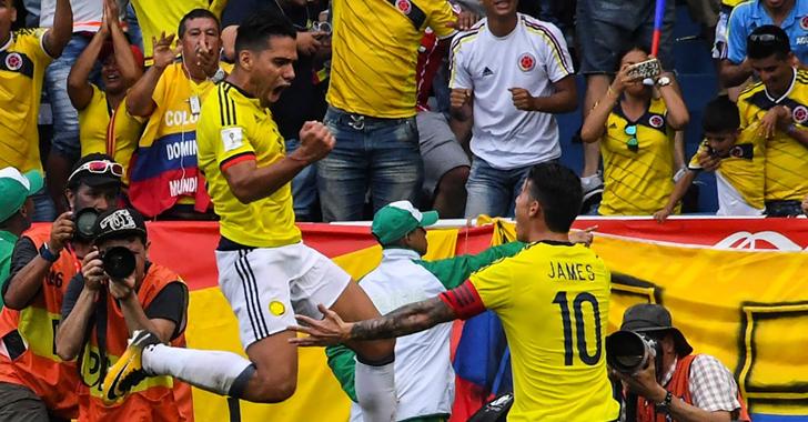 Las mejores fotos del partido de Colombia - Brasil