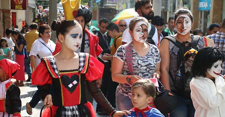 En fotos: Así celebraron los niños de Armenia el día de Halloween