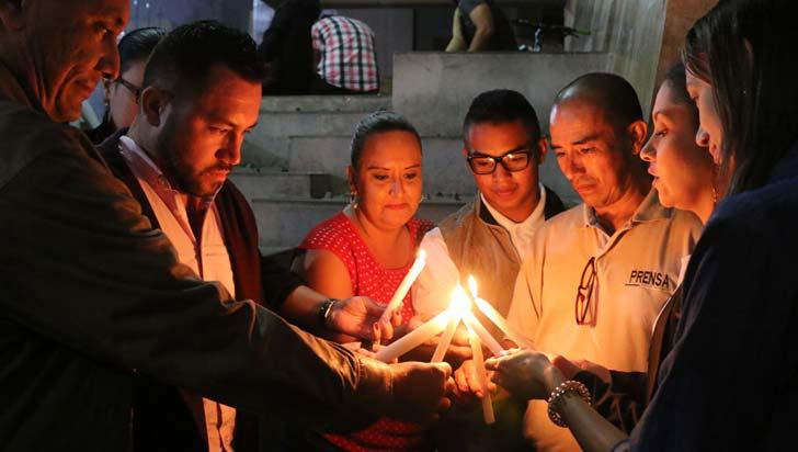Periodistas quindianos rechazaron muerte de colegas ecuatorianos