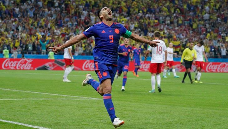 Las mejores fotos de la victoria de Colombia 3-0 sobre Polonia
