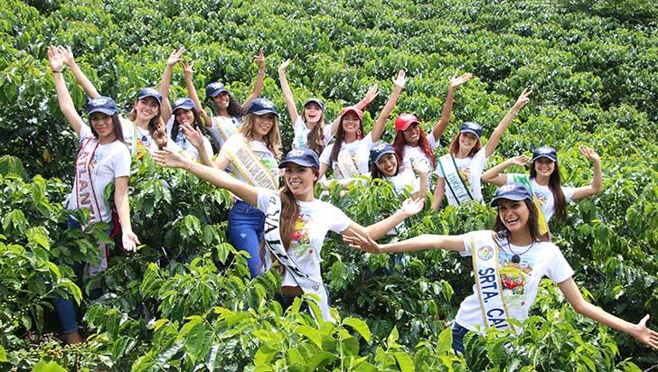 XXXVI Reinado Nacional del Café inició con la llegada de 14 candidatas