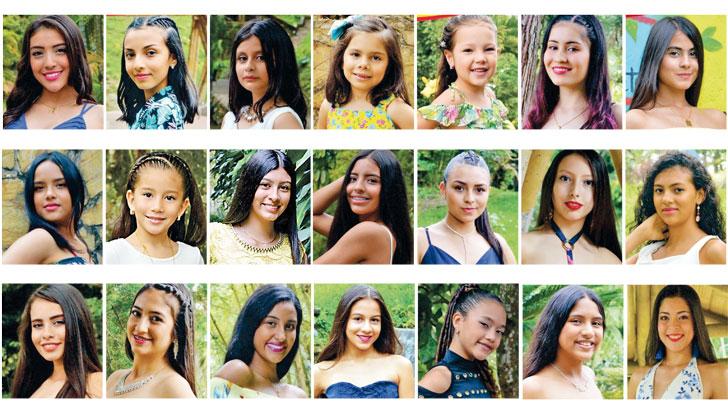 Reinas teen del café se preparan para competir en Risaralda