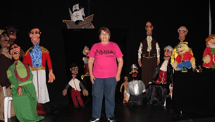 Continúa Festival Iberoamericano de Teatro de Muñecos en Quindío