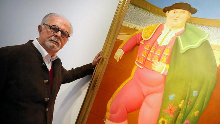 """Hoy en día todo arte que produzca placer se considera sospechoso"": Fernando Botero"