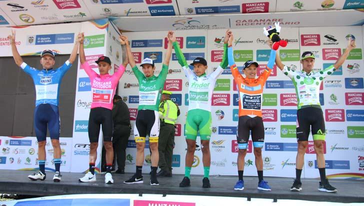 ¡Esta fue la Vuelta a Colombia en su paso por el Quindío!