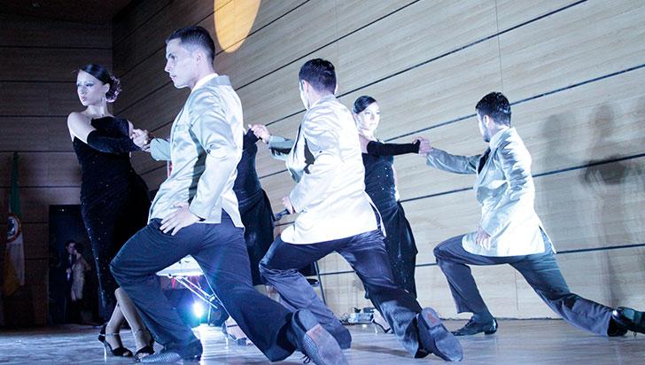 Con participación de tres países se danzará al compás de un tango