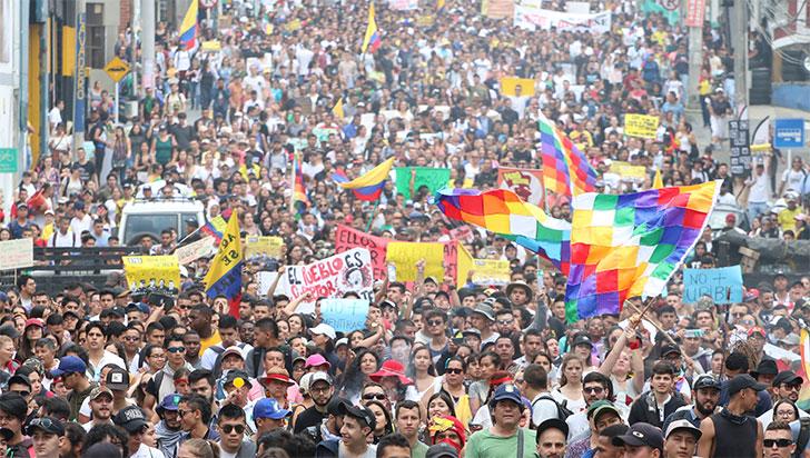 El decálogo de la protesta nacional en Colombia