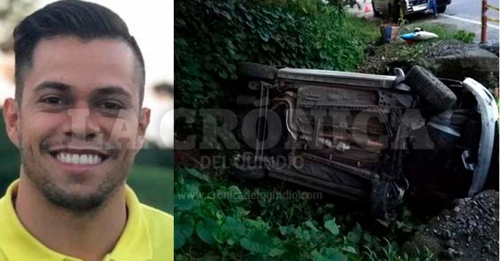 """""""Por como quedó el carro, gracias a Dios estamos vivos"""": Felipe Villamil"""