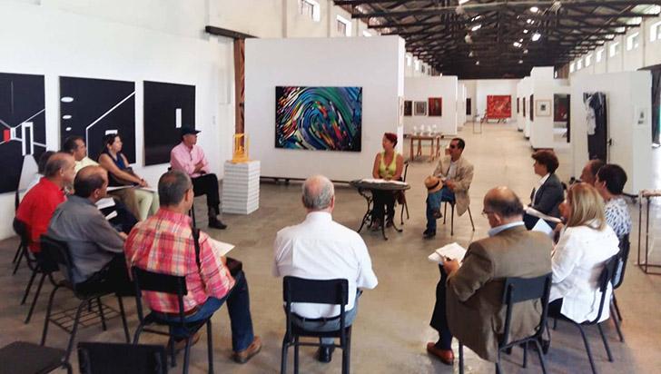 Siete obras, el nuevo atractivo del Salón de Artistas Quindianos en el Maqui