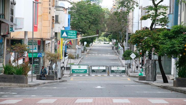 Armenios cumplieron restricción total de movilidad