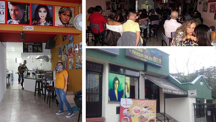 El bar que convirtieron en restaurante para sobrevivir a la pandemia