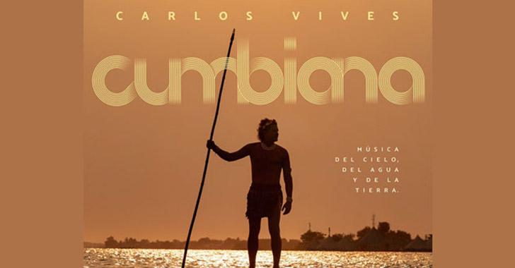 """""""Cumbiana"""", de Carlos Vives, llega el 31 de julio en formato físico"""