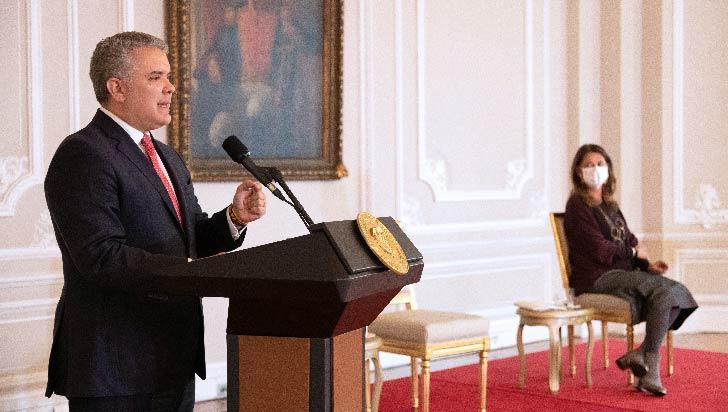 """Duque afirma que hay """" desequilibrio"""" e """"incoherencias""""en justicia colombiana"""