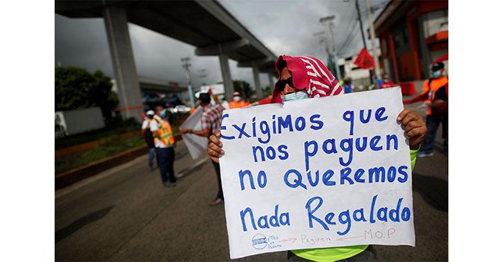 Unos 200 obreros despedidos por filial colombiana Conalvías, reclaman pagos en Panamá