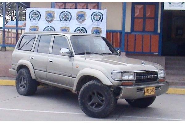 Policía recuperó en Cruces camioneta que había sido hurtada en Venezuela