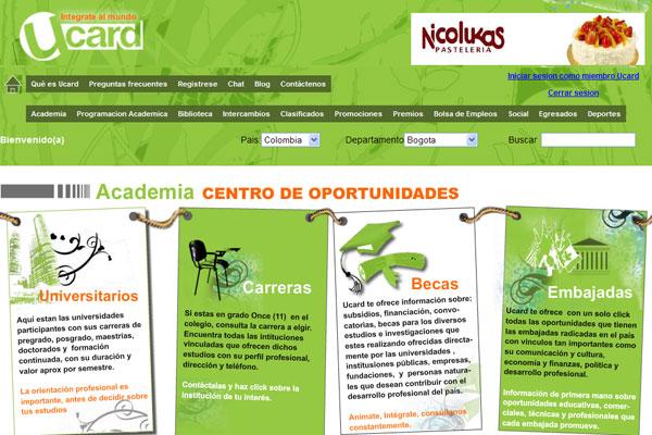 Mundo Ucard, nueva red de universitarios y profesionales