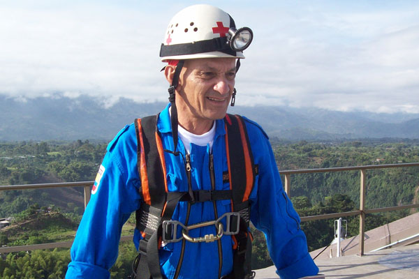 Carlos Berrío invitado a congreso internacional de rescate en Táchira