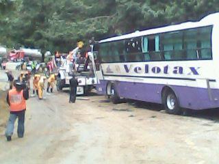 Un muerto y dos heridos en accidente sector de La Línea