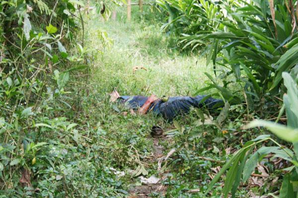 Sin identificar presunto 'manchero' asesinado en Calarcá