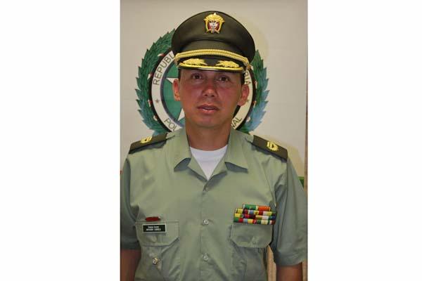 Asumió el nuevo subcomandante de Policía Quindío
