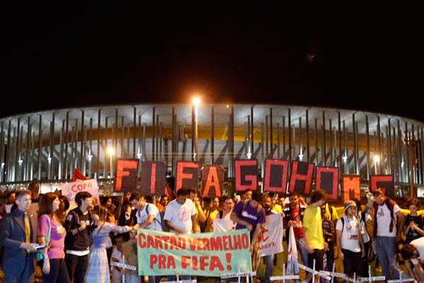 Brasil vive una jornada de protestas masivas contra el Mundial