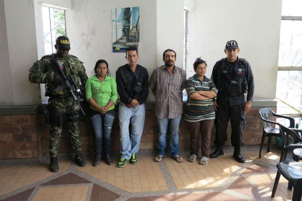 Las detenciones se dieron en el barrio Lincoln del segundo municipio del departamento.